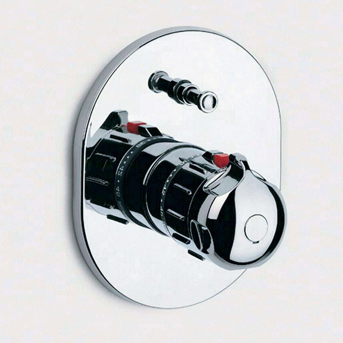 roca prada built in thermostatic bath or shower mixer valve