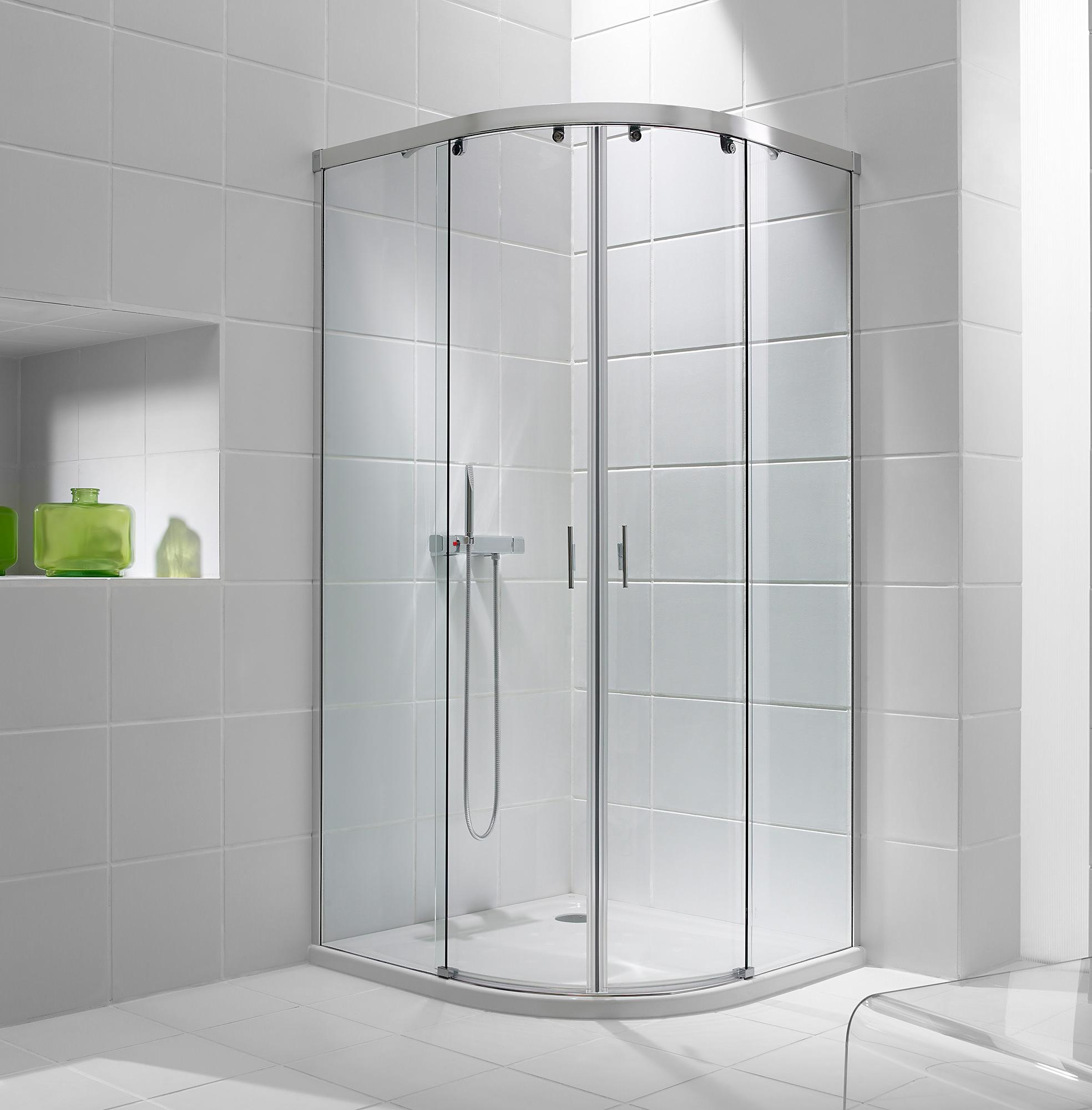 Plain Double Sliding Shower Doors Volente Door 1200 Intended Design