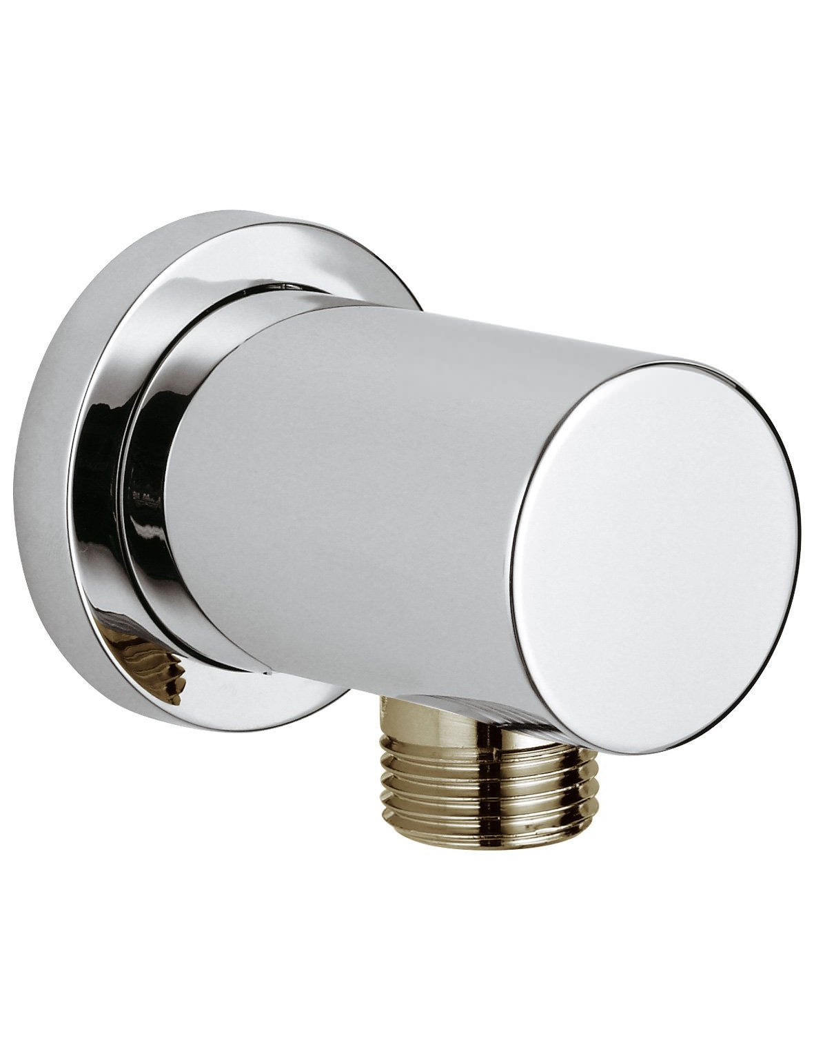 Grohe rainshower round shower outlet elbow chrome for Griferia grohe outlet