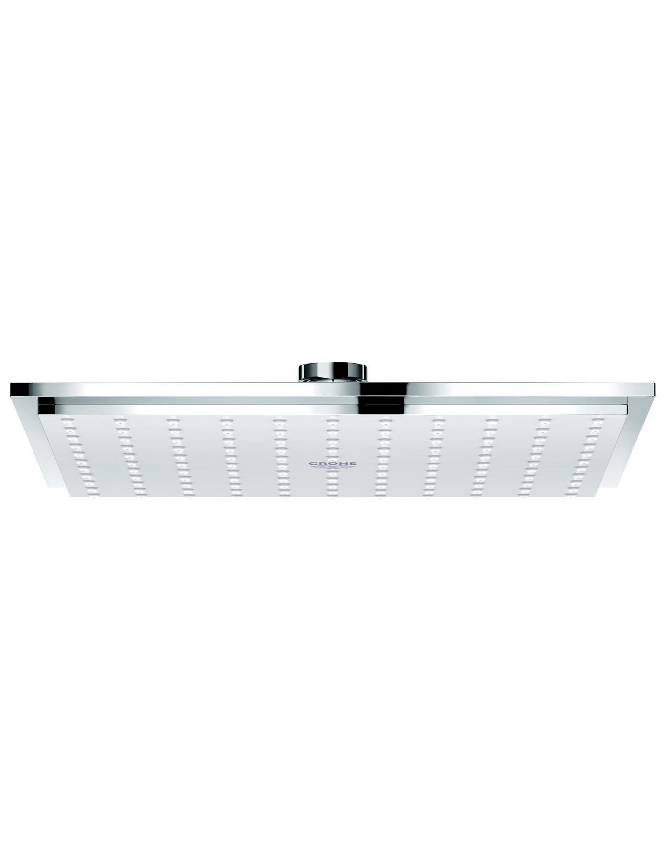 grohe spa rainshower allure 210 single spray metal shower head. Black Bedroom Furniture Sets. Home Design Ideas