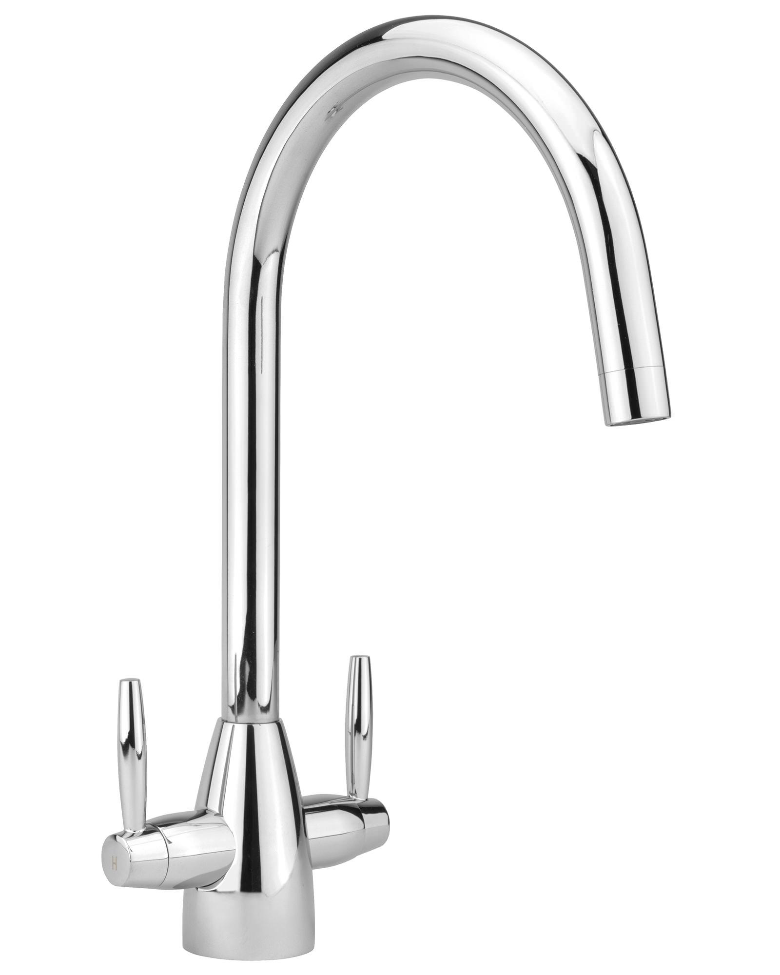 Sagittarius Forme Chrome Monobloc Kitchen Sink Mixer Tap