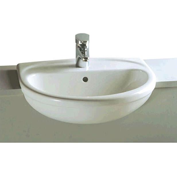 Very VitrA Layton Semi-Recessed Basin 57cm HA84