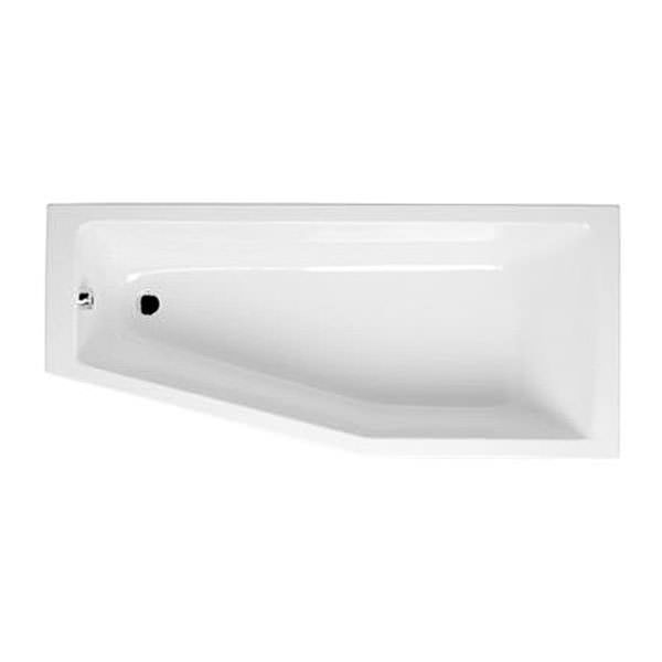 steel cabinet vitra neon 1700 x 750 x 500mm left handed space saver bath 26760