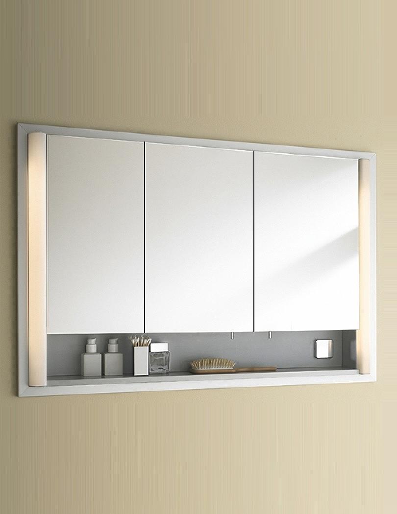 Duravit Aluminium White 1200 X 660mm Mirror Cabinet