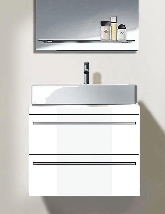 duravit x large white matt 600mm 2 drawer vanity unit. Black Bedroom Furniture Sets. Home Design Ideas