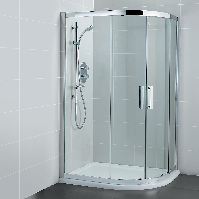 ideal standard synergy offset quadrant shower enclosure. Black Bedroom Furniture Sets. Home Design Ideas