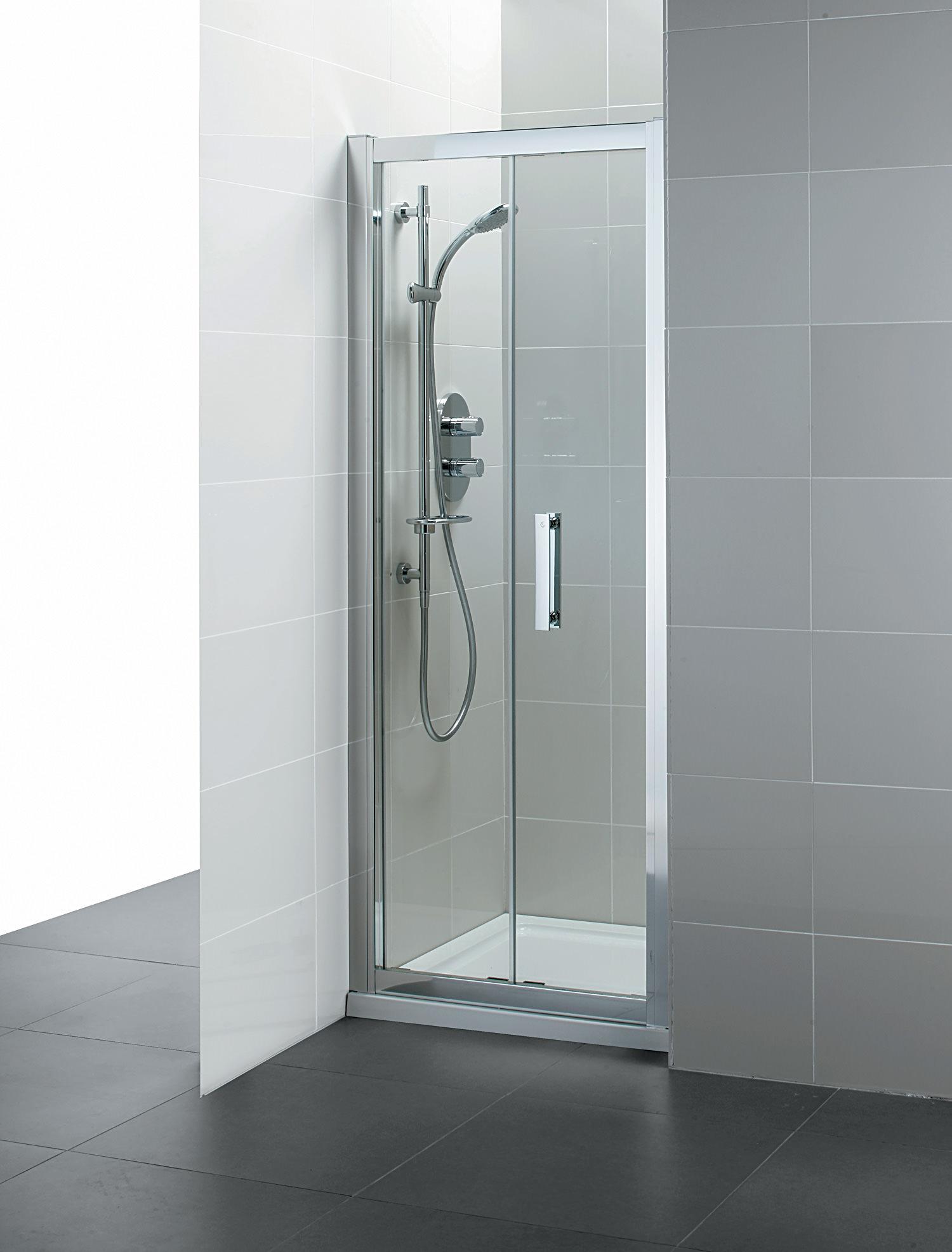 Ideal Standard Synergy 900mm Infold Shower Door