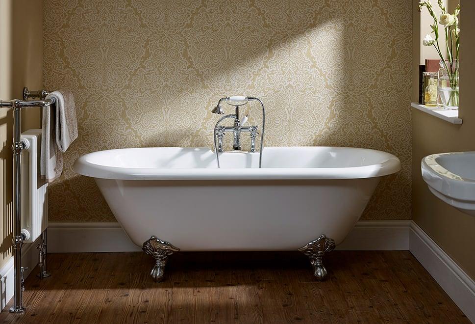 Traditional Roll Top Freestanding Bath 1700 x 800mm