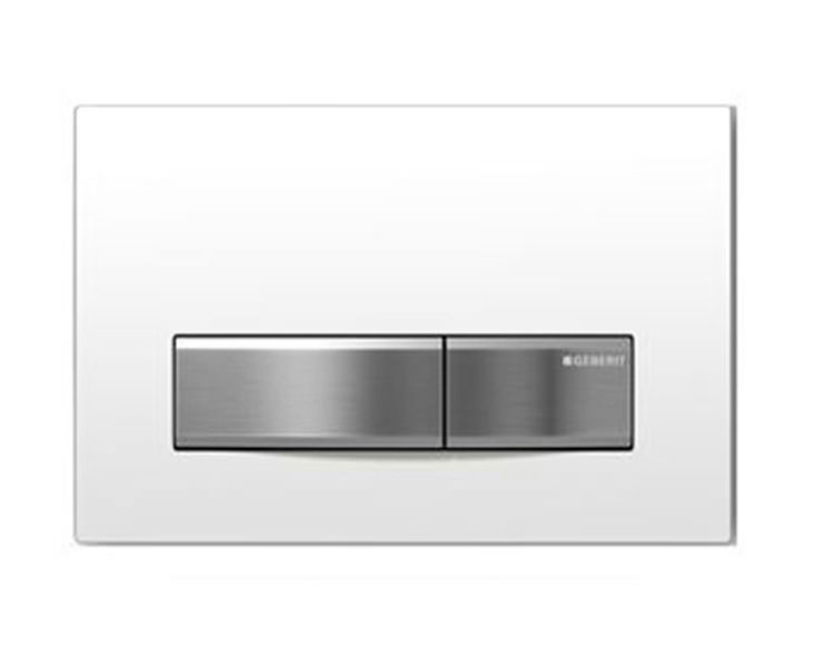 Geberit sigma50 white dual flush plate for Geberit flush