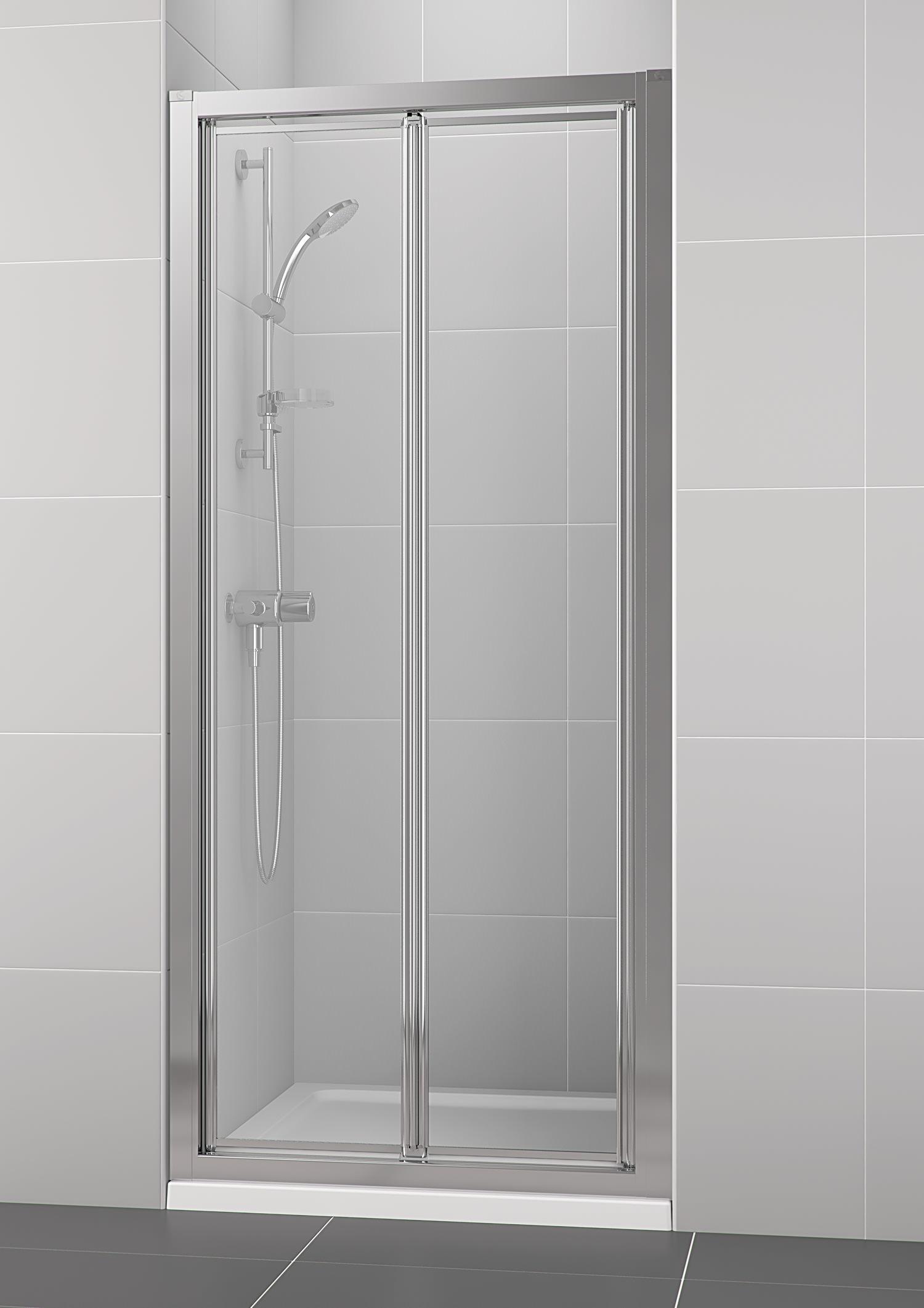 Ideal Standard New Connect 900mm Bifold Shower Door