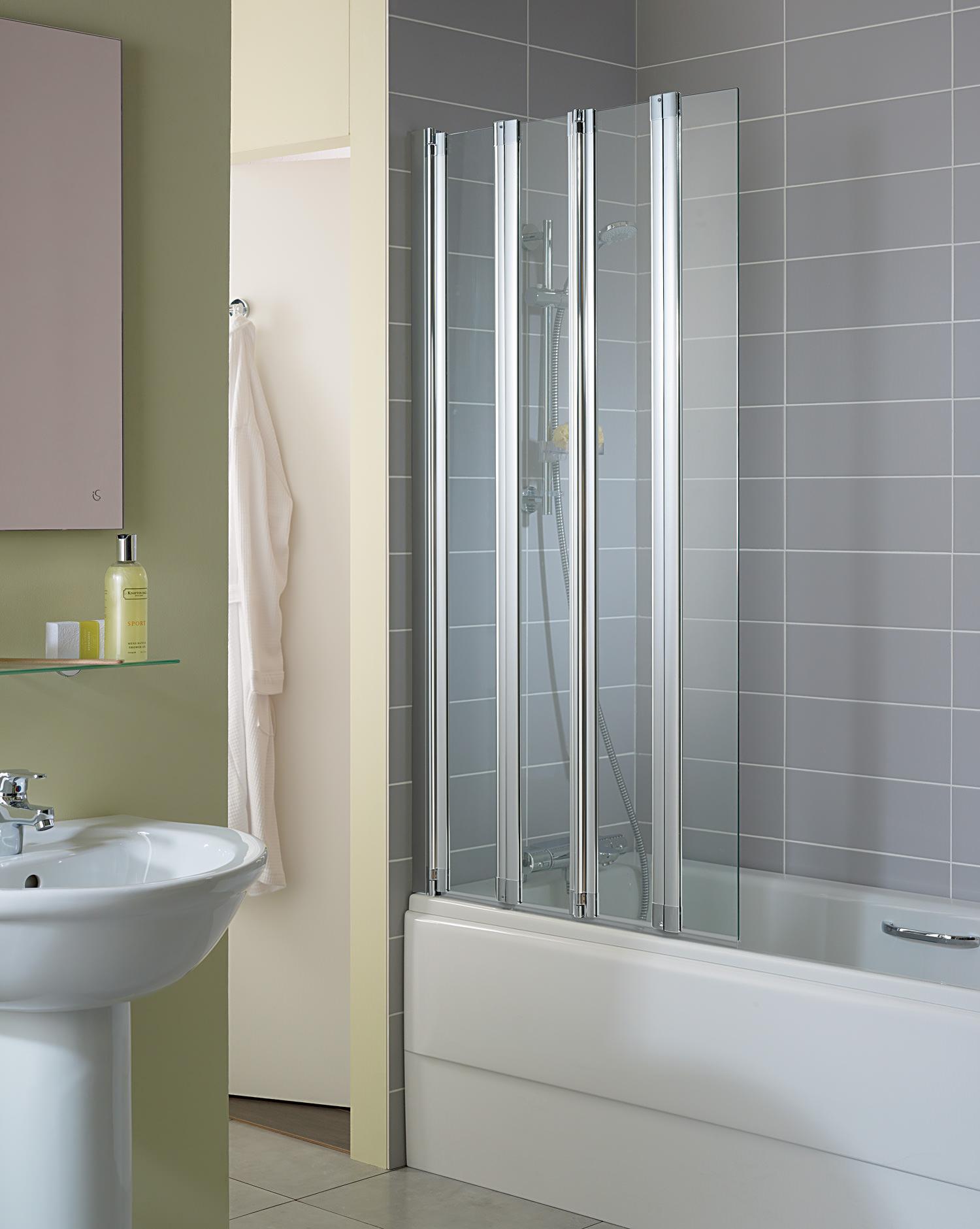 Ideal Standard New Connect Folding Bath Screen
