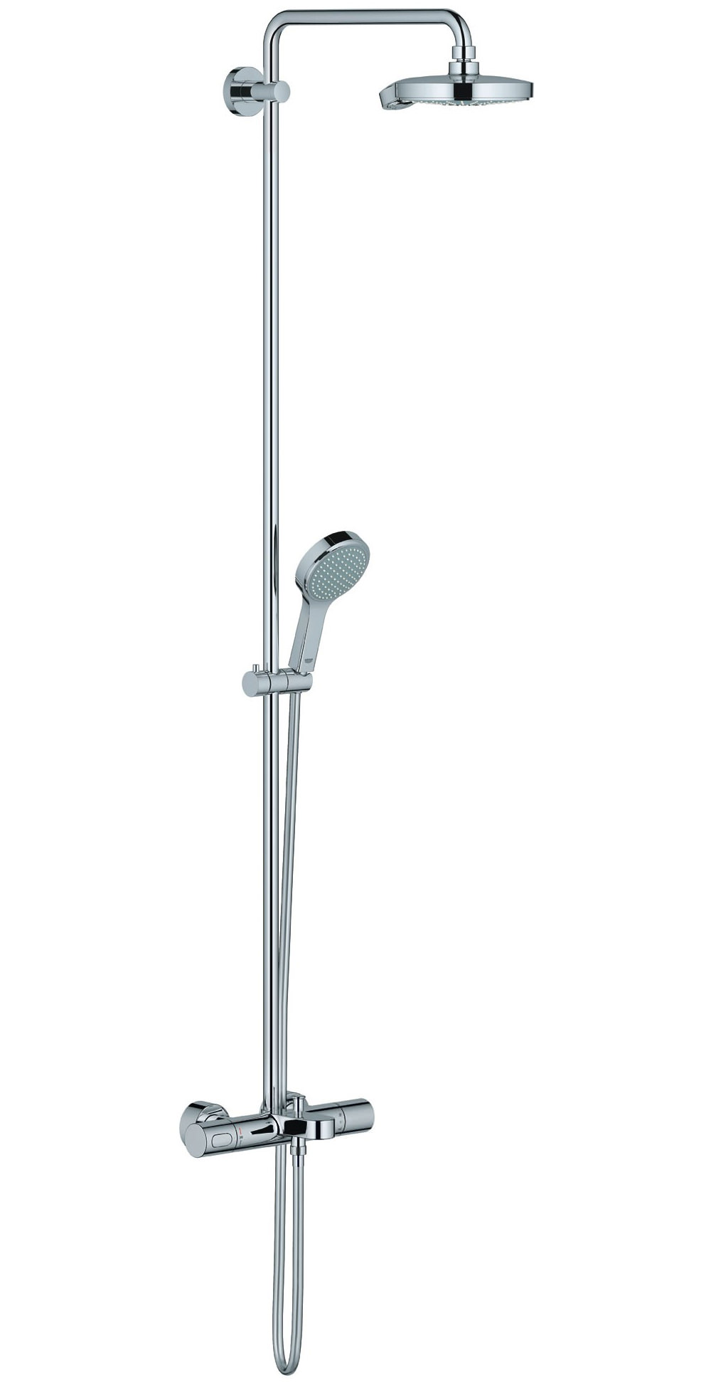 Grohe Spa Power Amp Soul Cosmopolitan Shower System With