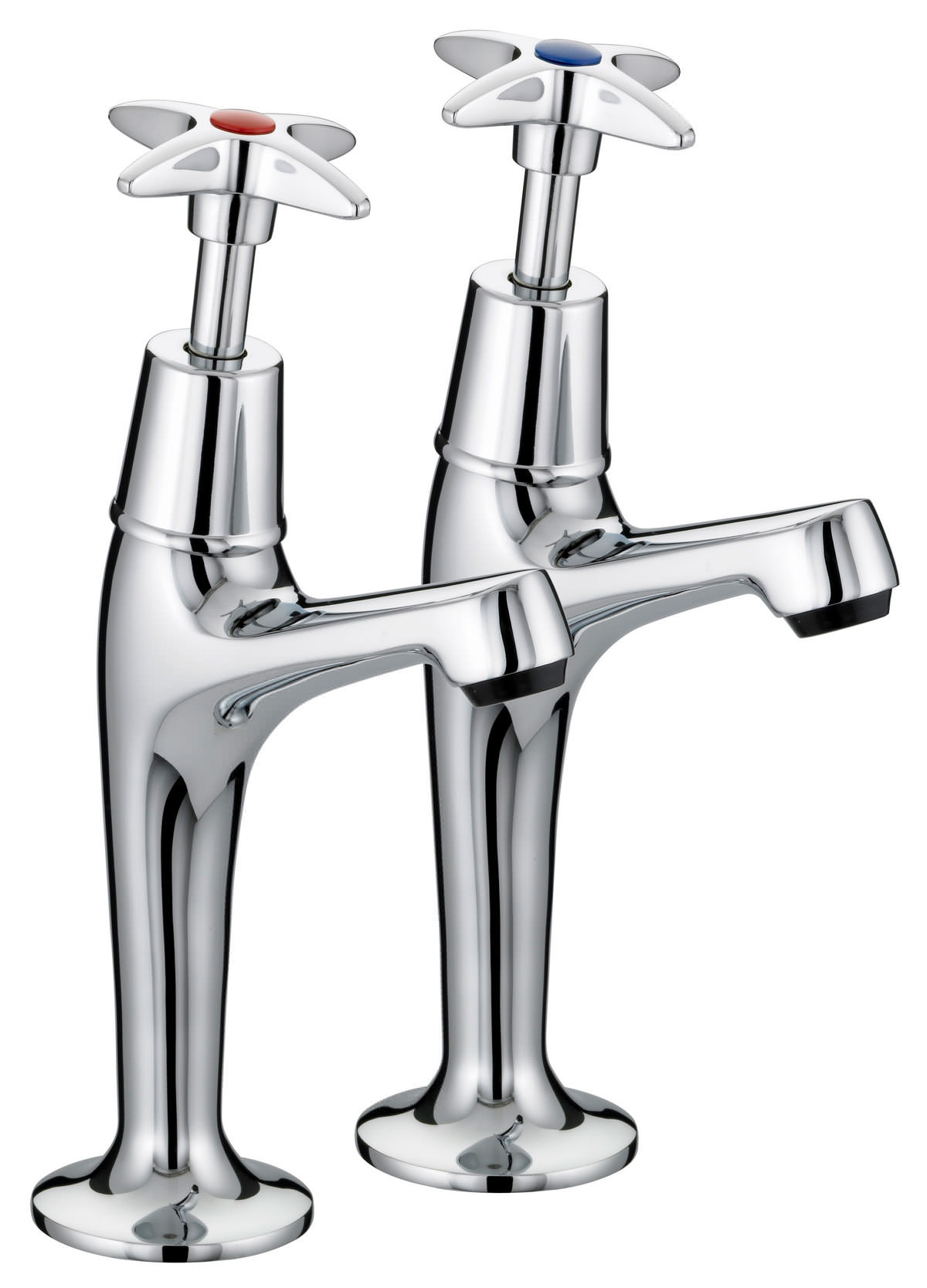 kitchen sink pillar taps bristan value x high neck pillar kitchen sink taps 5889