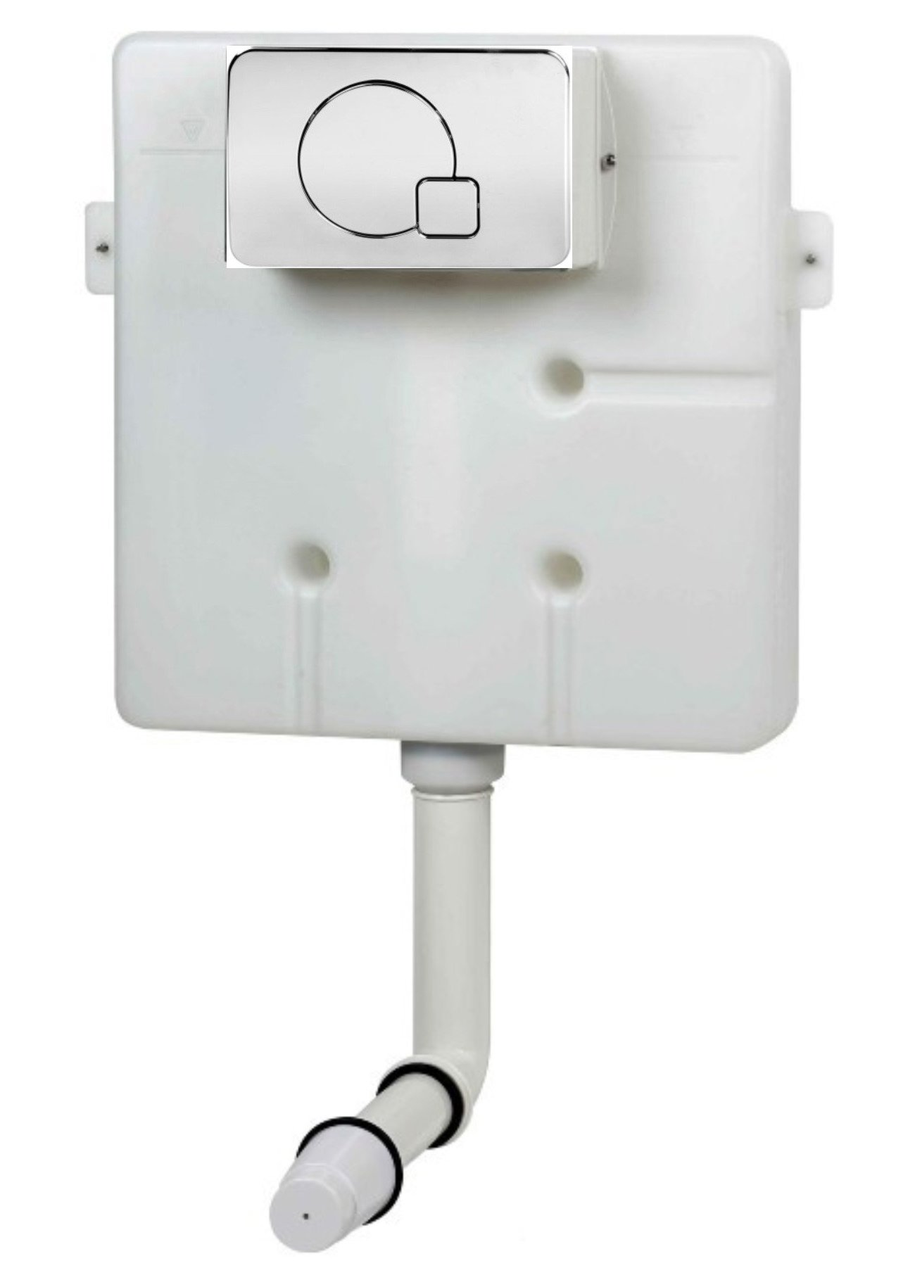 Pura Super Slim Insulated Concealed Cistern With Dual