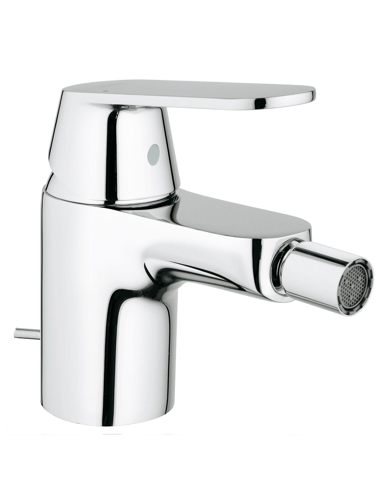 grohe eurosmart cosmopolitan bidet mixer tap with pop up waste. Black Bedroom Furniture Sets. Home Design Ideas