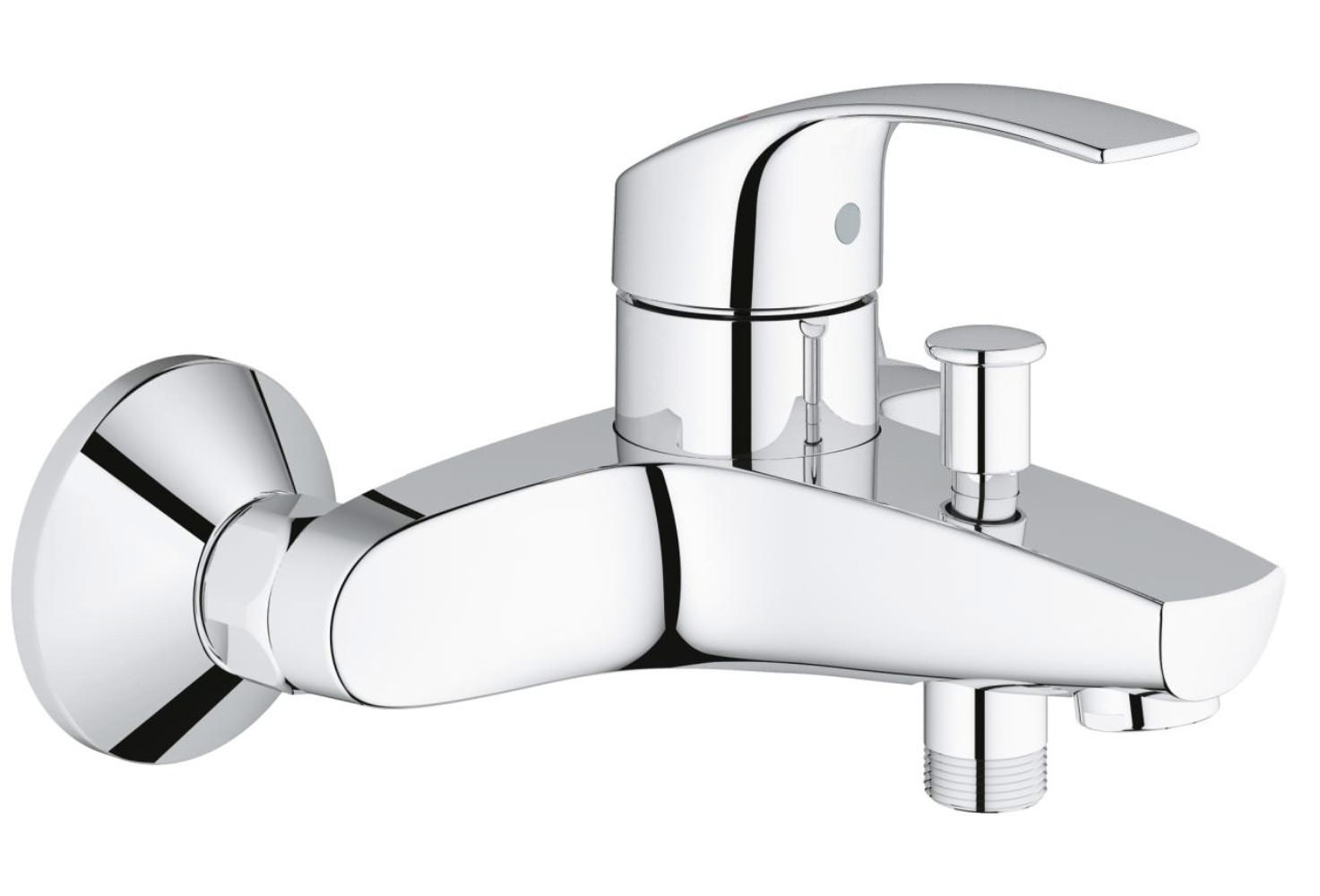 Grohe Eurosmart Wall Mounted Single Lever Bath Shower Mixer Tap