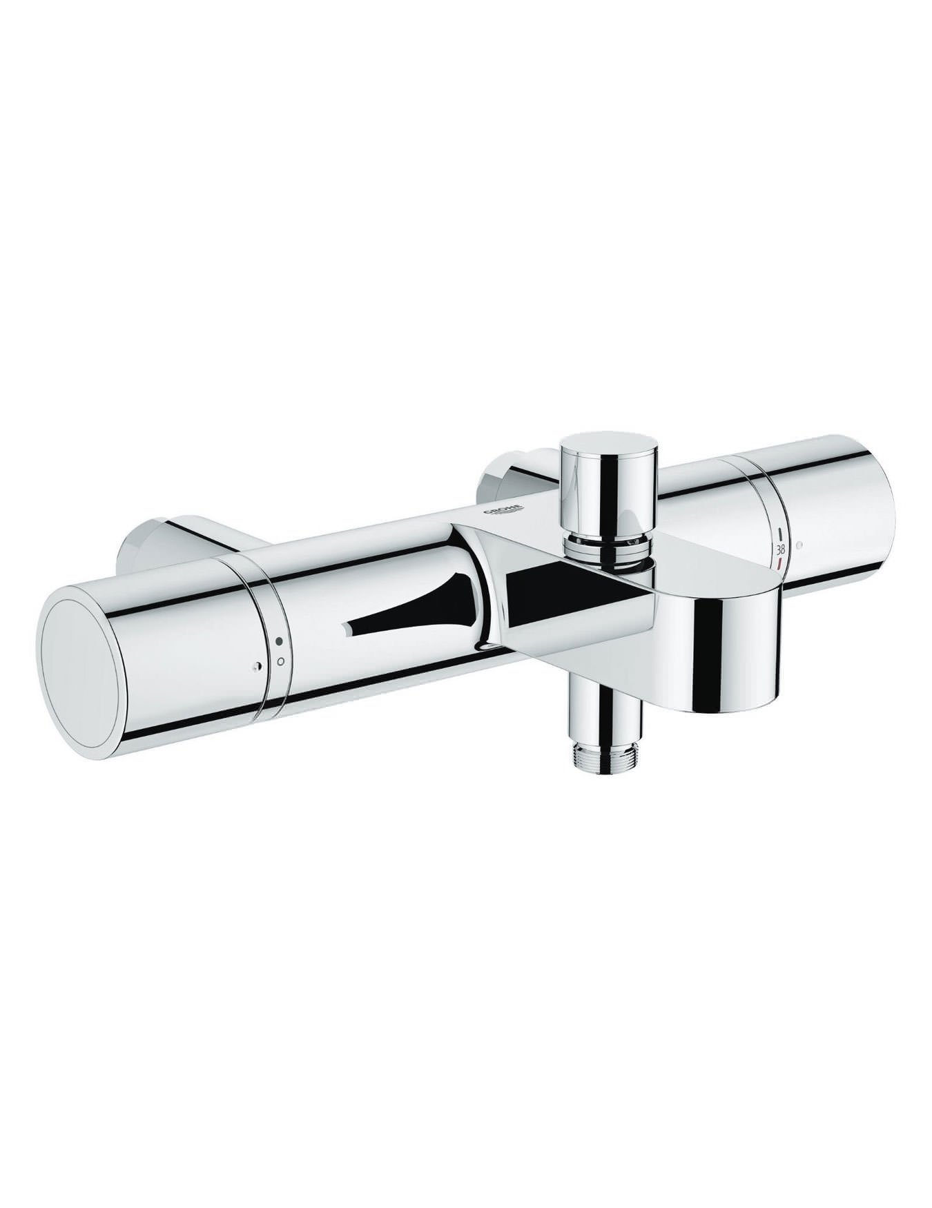 grohe grohtherm 1000 cosmo thermostatic bath shower mixer tap. Black Bedroom Furniture Sets. Home Design Ideas