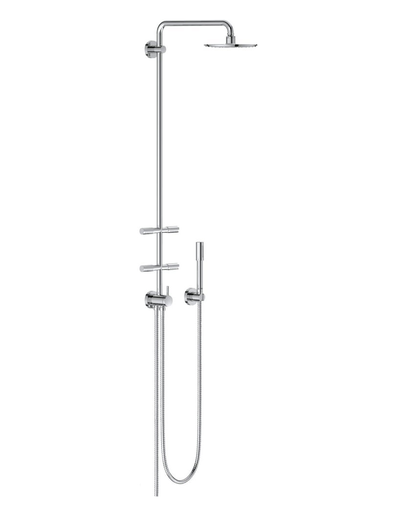Stunning Rainwater Shower System Ideas - Bathtub for Bathroom ...