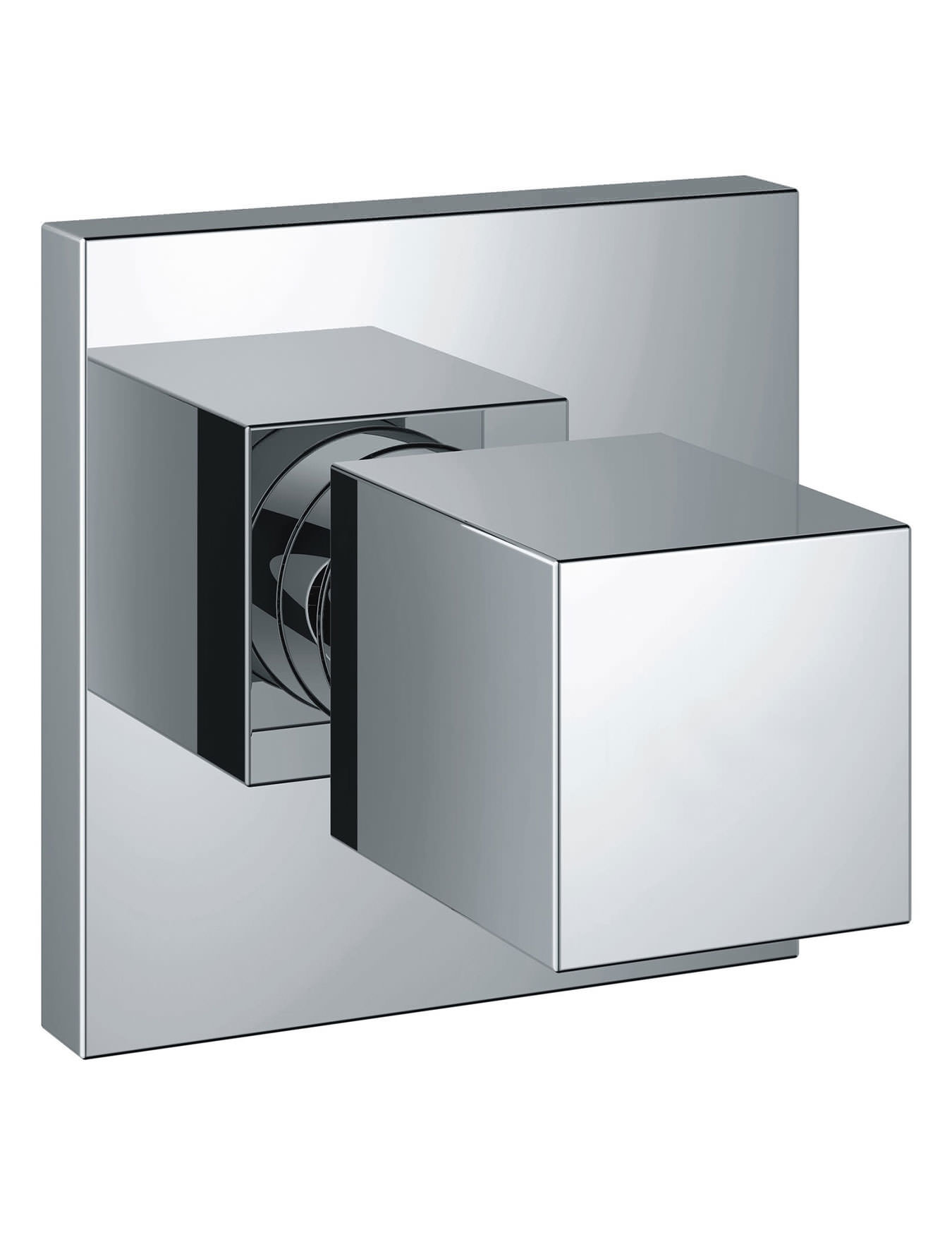 grohe eurocube concealed stop valve trim. Black Bedroom Furniture Sets. Home Design Ideas