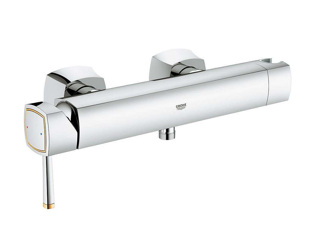 grohe spa grandera single lever shower mixer valve chrome. Black Bedroom Furniture Sets. Home Design Ideas