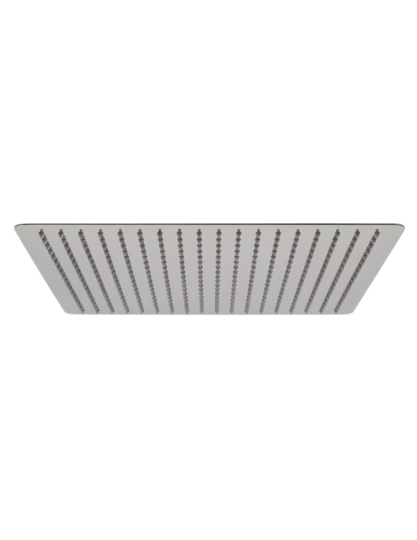 vado aquablade slim line 400mm square shower head