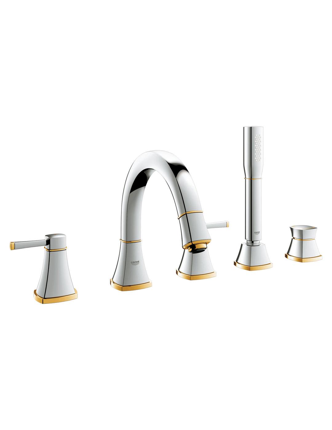Grohe Spa Grandera 5 Hole Bath Shower Combination