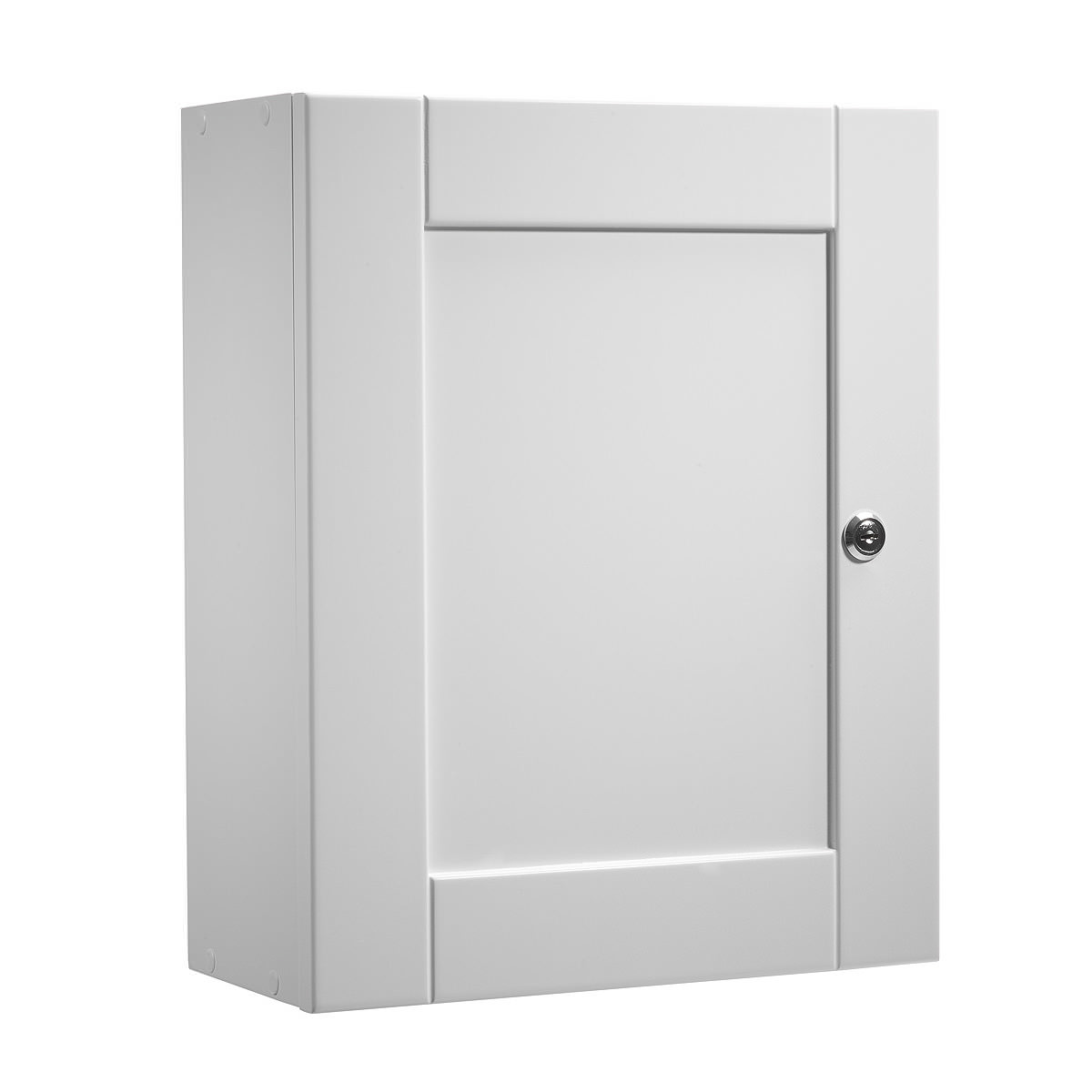 Roper rhodes medicab white 334mm lockable medicine cabinet for Medicine cabinets