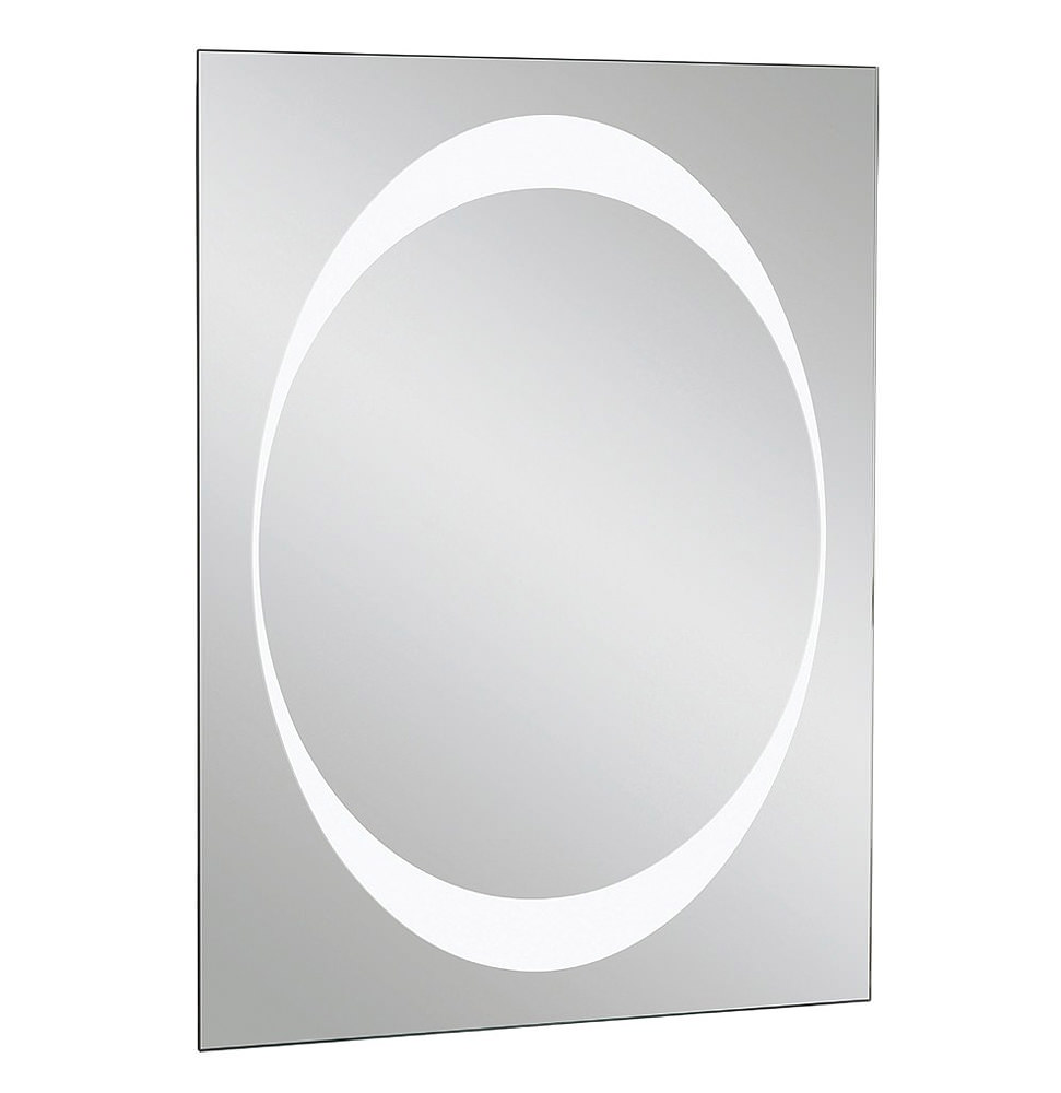 Bauhaus revive 1 0 bluetooth led mirror 600 x 800mm for Mirror 800 x 600
