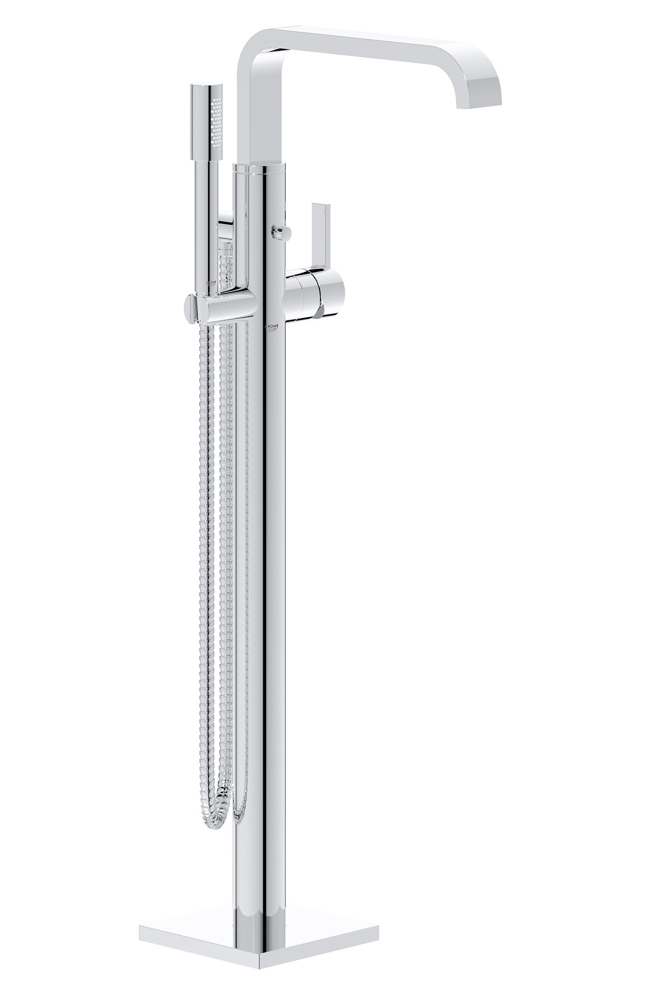 Grohe Spa Allure Floor Mounted Bath Shower Mixer With Shower Kit