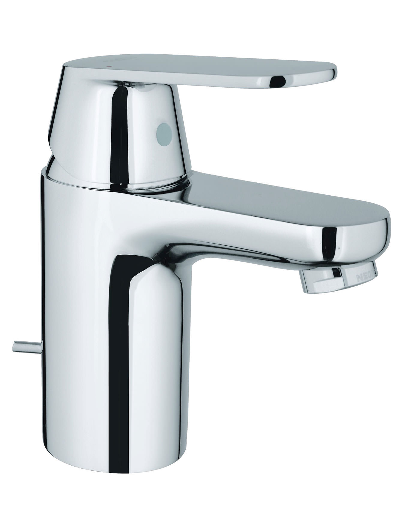grohe eurosmart cosmopolitan basin mixer tap with pop up waste. Black Bedroom Furniture Sets. Home Design Ideas