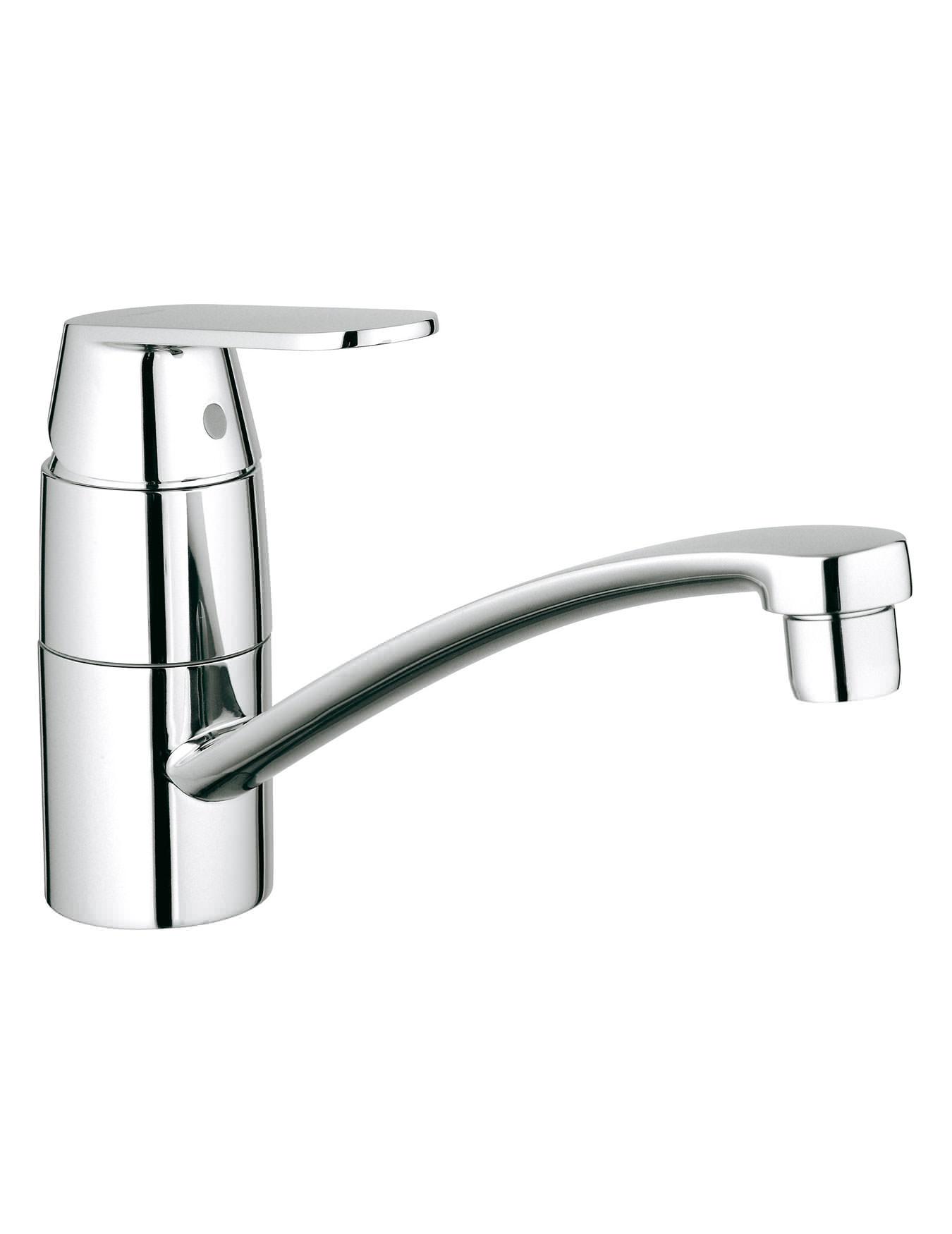 grohe eurosmart cosmopolitan low spout monobloc sink mixer tap. Black Bedroom Furniture Sets. Home Design Ideas