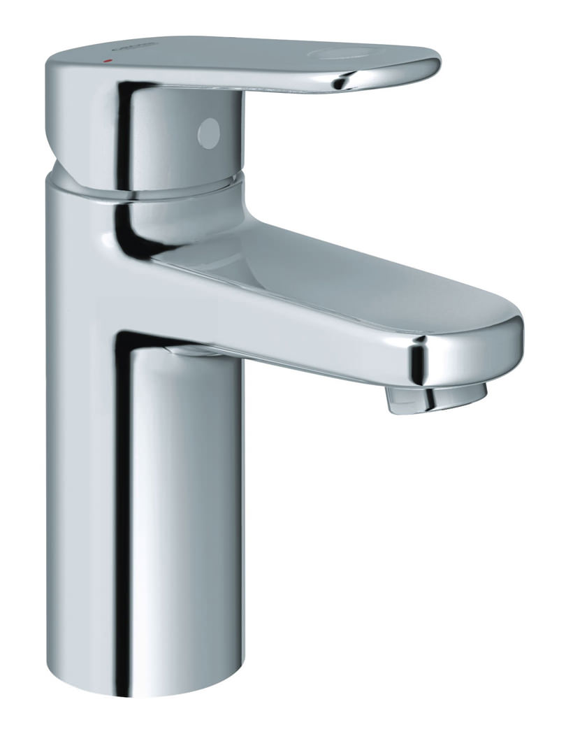 grohe europlus chrome monobloc basin mixer tap. Black Bedroom Furniture Sets. Home Design Ideas