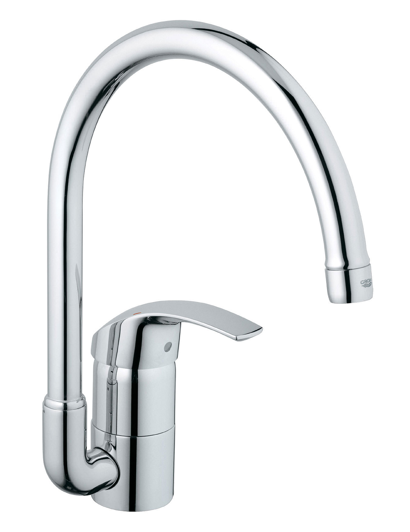 grohe kitchen sink taps grohe eurosmart monobloc sink mixer tap with swivel 4103