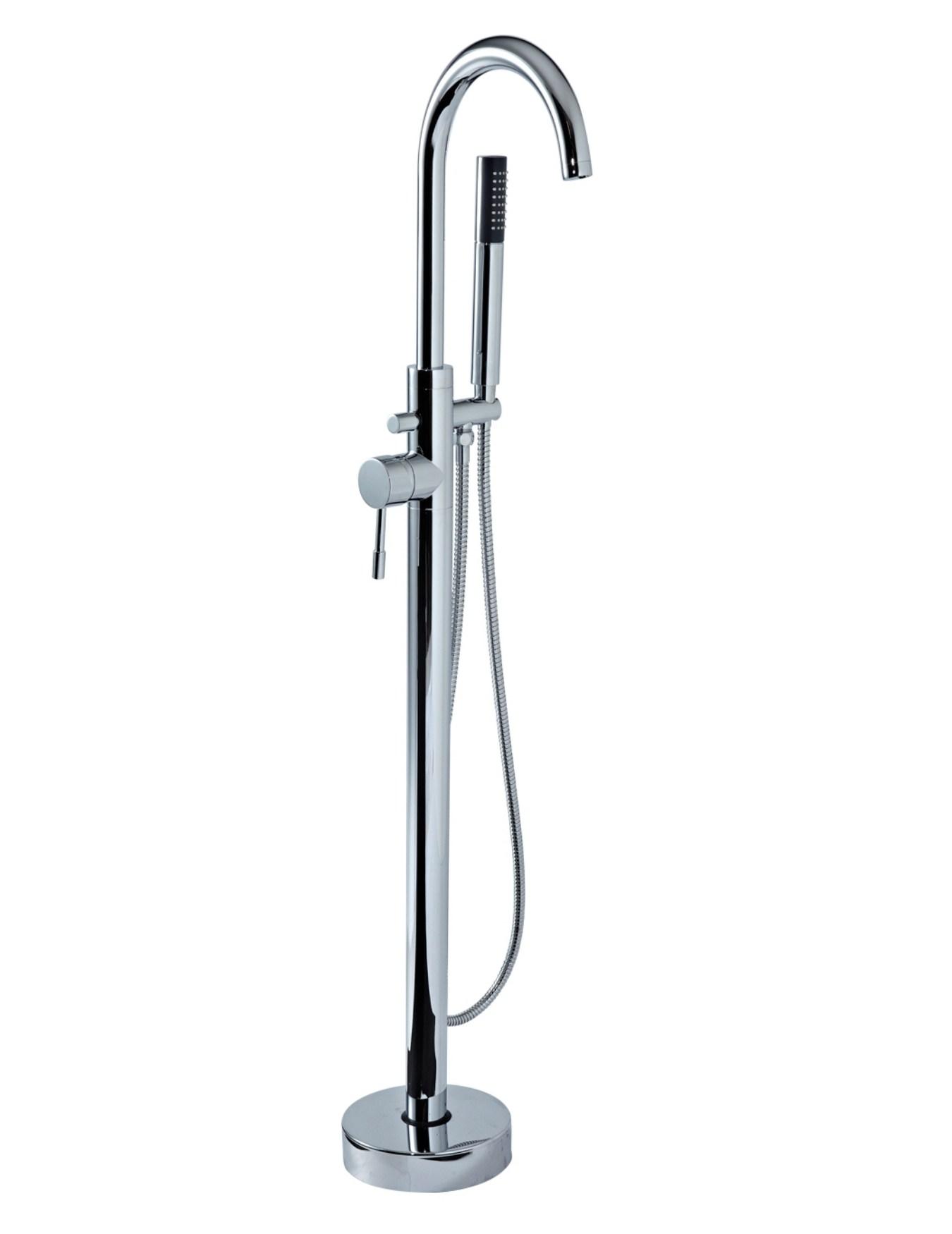 Phoenix AR Series Freestanding Mono Bath Shower Mixer Tap Chrome