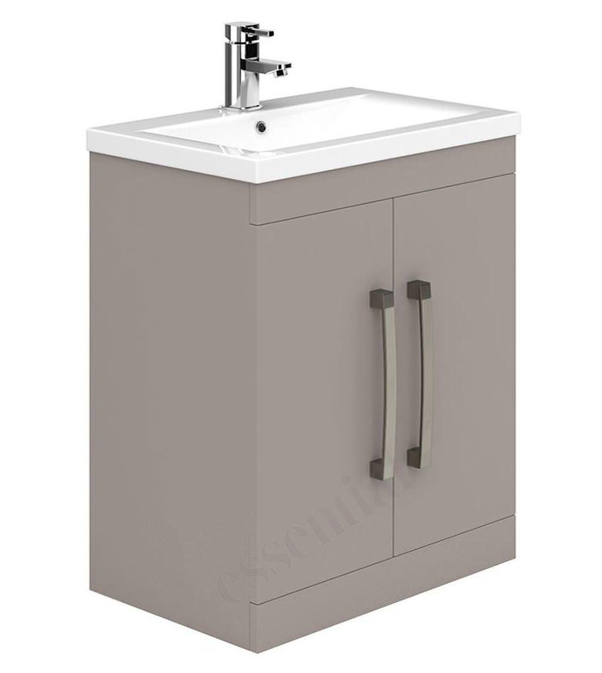 Essential Nevada 800mm Cashmere 2 Door Vanity Unit And Basin