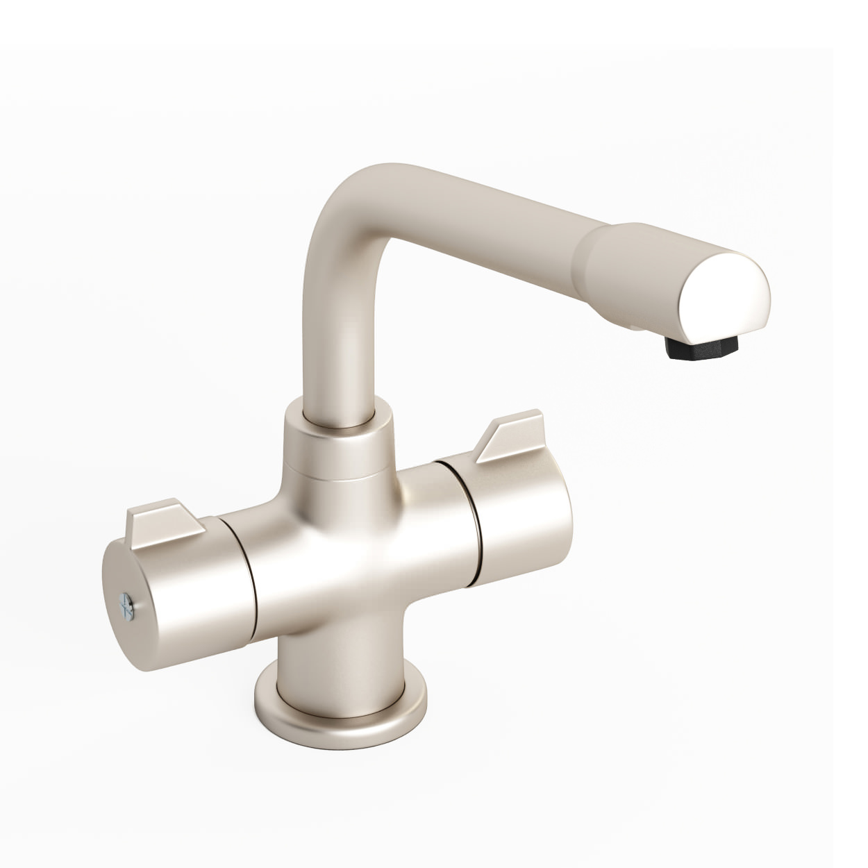 Abode Aspley Monobloc Kitchen Tap Brushed Nickel