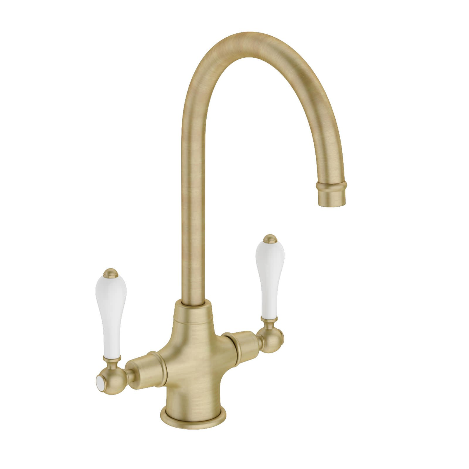 Abode Ludlow Monobloc Kitchen Tap Antique Bronze