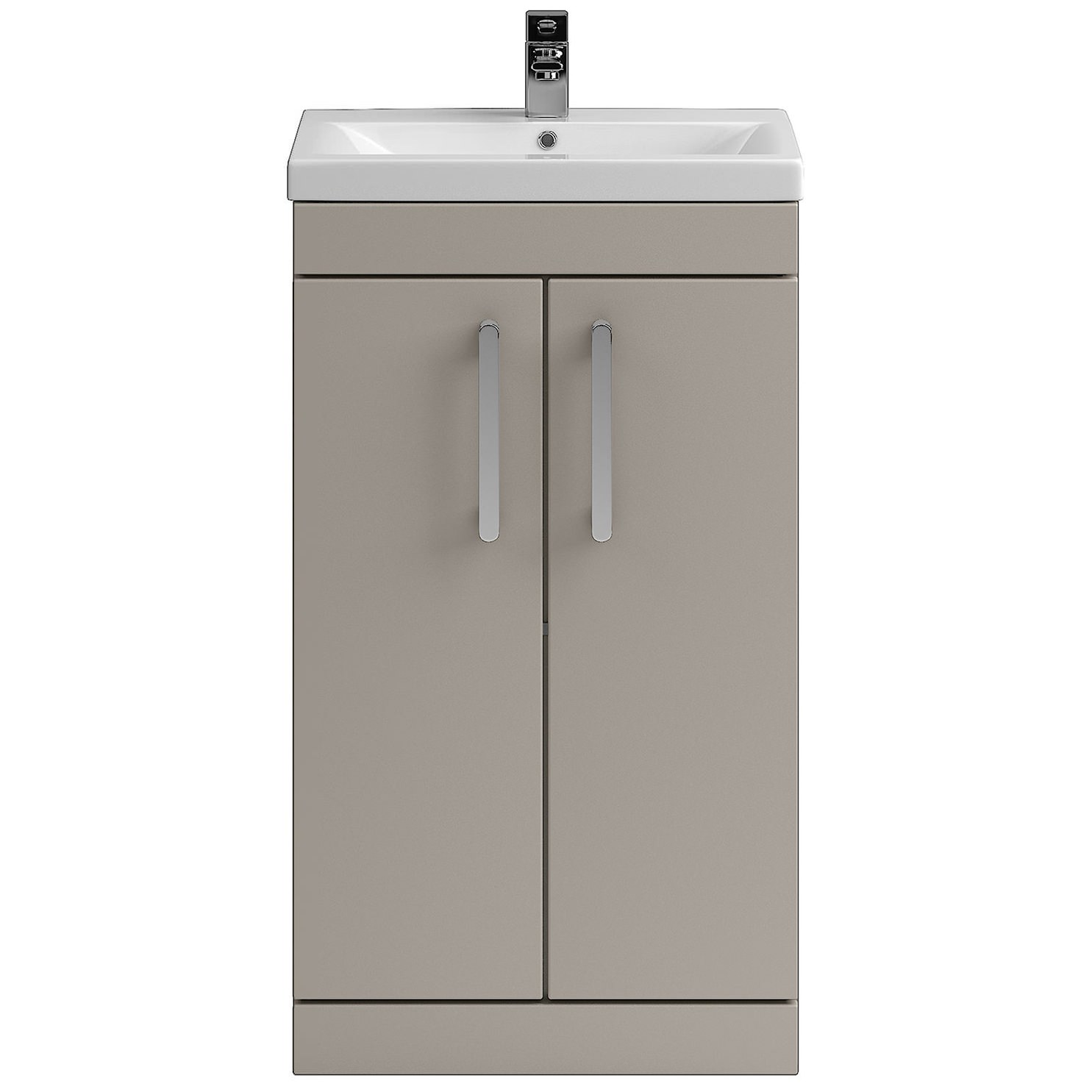 Lauren shipton 500mm stone grey floor standing cabinet and for Kitchen cabinets 500mm