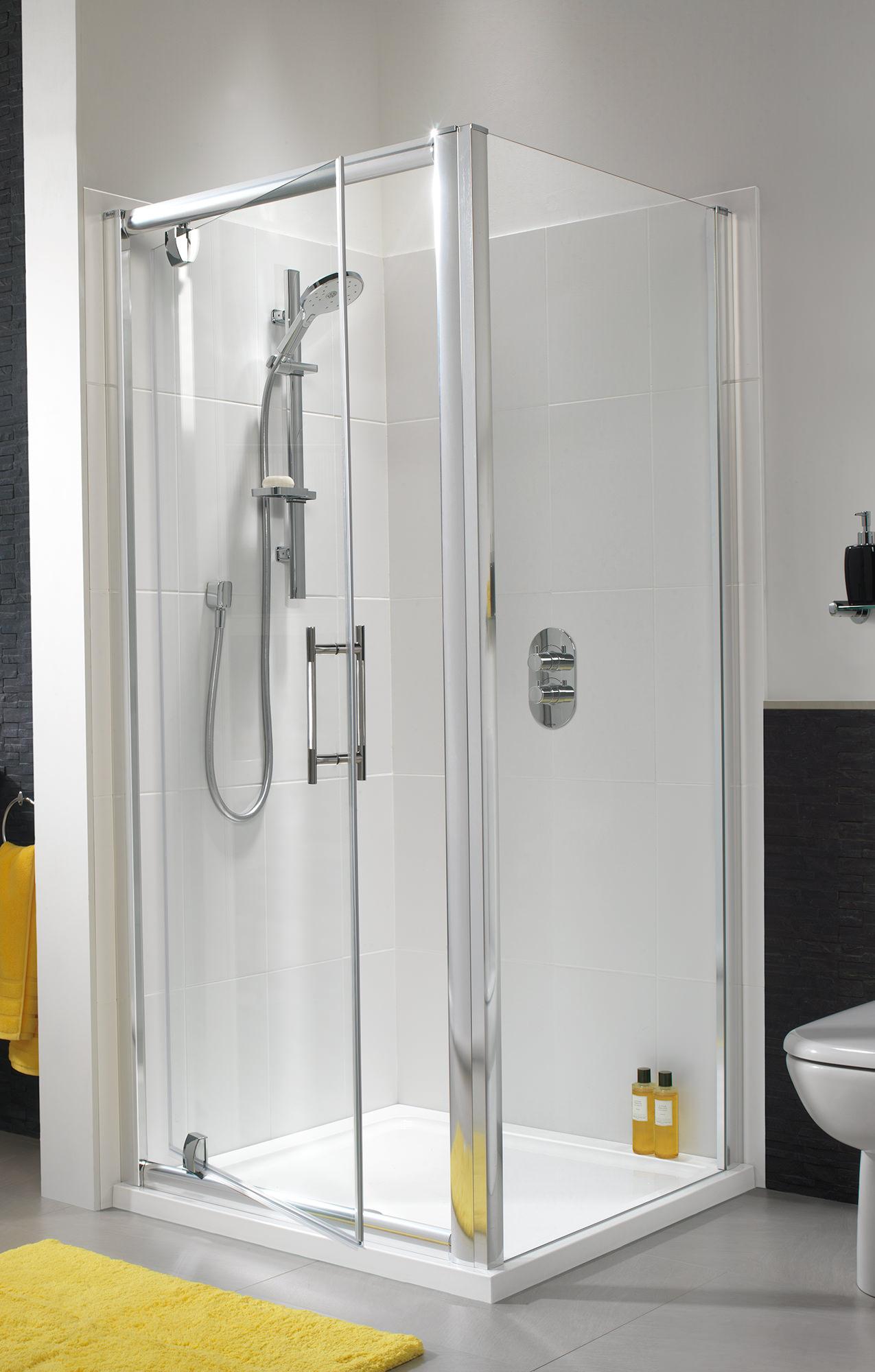 Twyford ES400 800mm Pivot Shower Enclosure Door