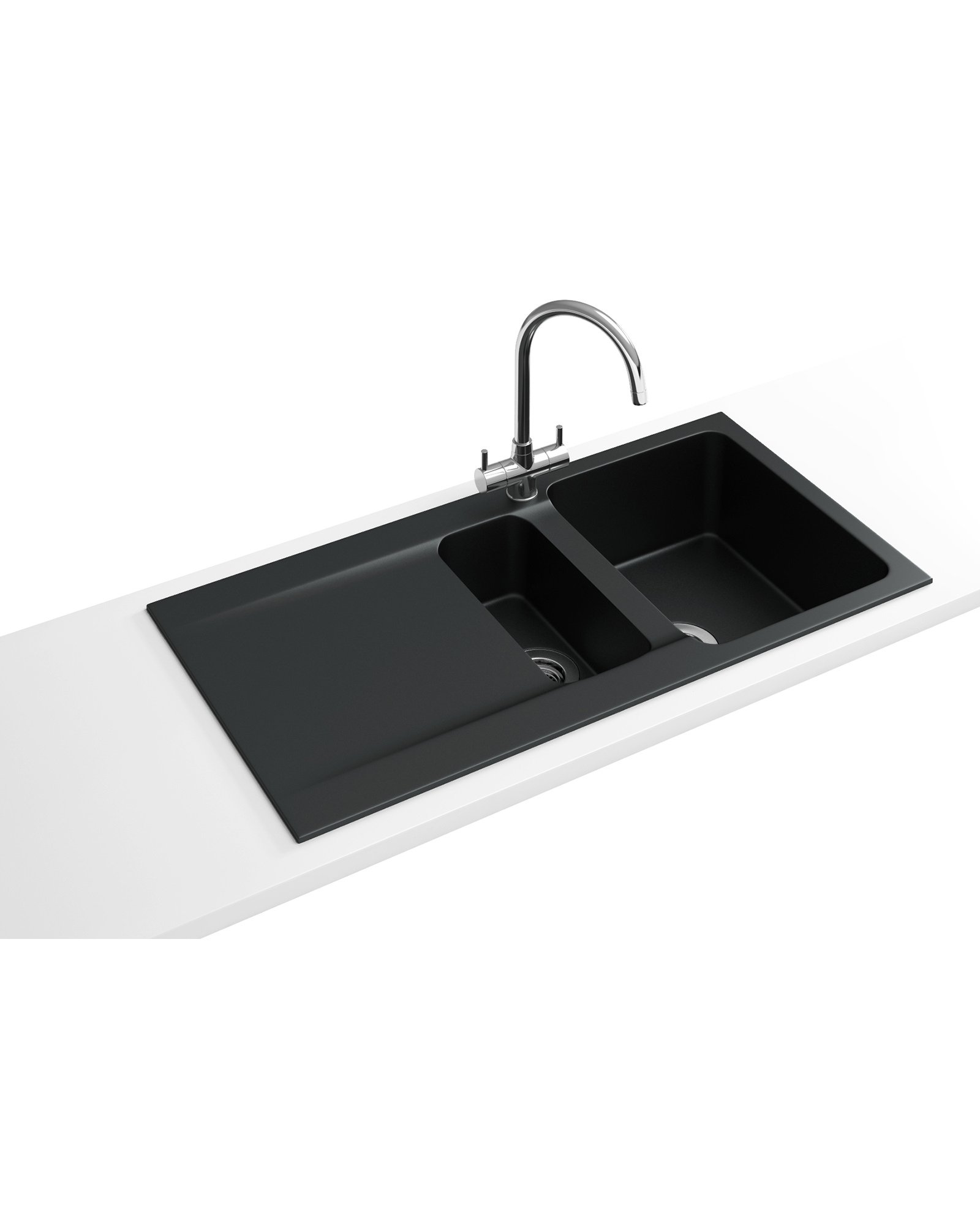 Orion OID 651 Propack - Tectonite Carbon Black Sink And Tap