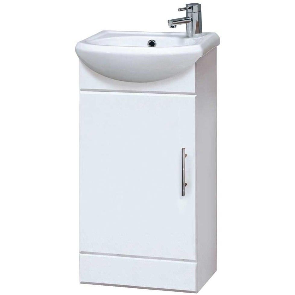 Lauren Sienna 420mm Floor Standing Cabinet And Basin