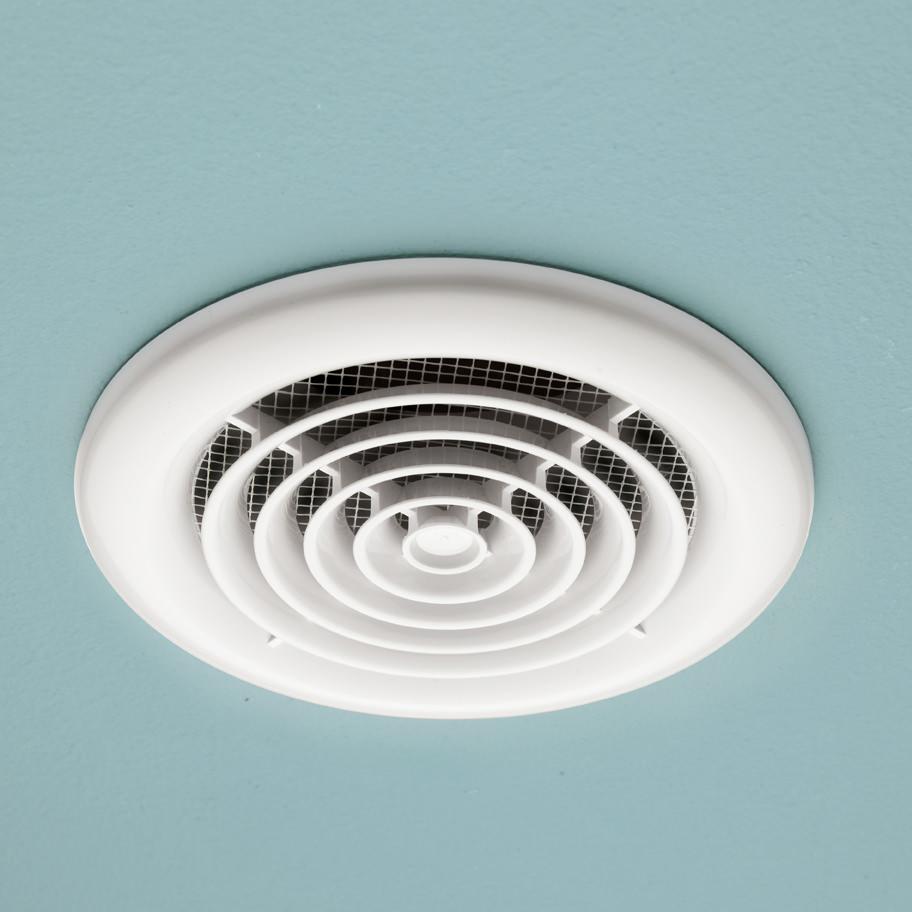 Hib Cyclone Wet Room Inline Non Illuminated Fan White 33300