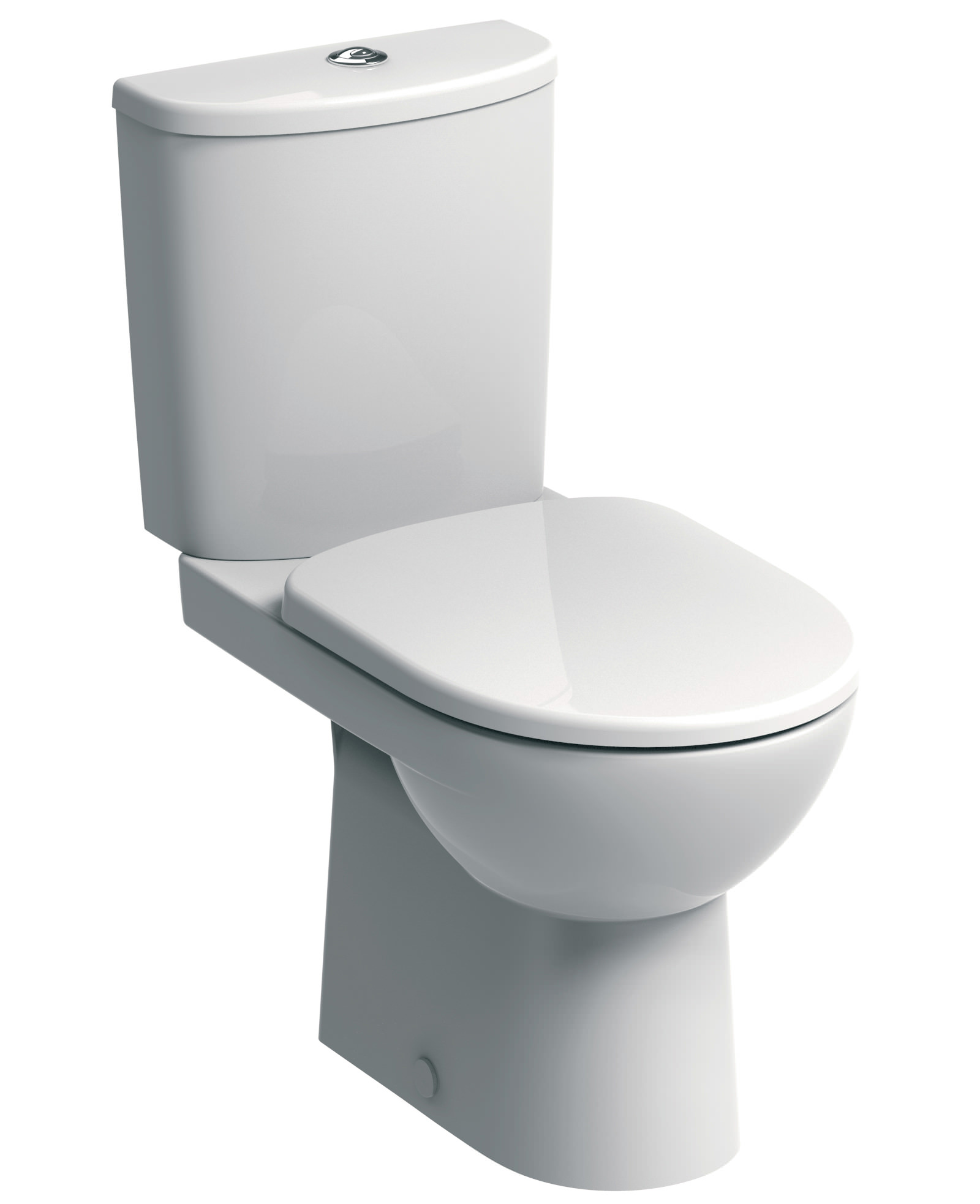 40cm round toilet seat.  Twyford E100 Round Premium Close Coupled WC Pan And Cistern 680mm