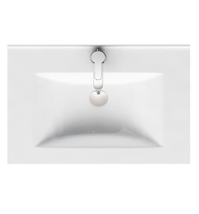 Britton Aqua Cabinets D450 1 Tap Hole 600mm Ceramic Furniture Basin