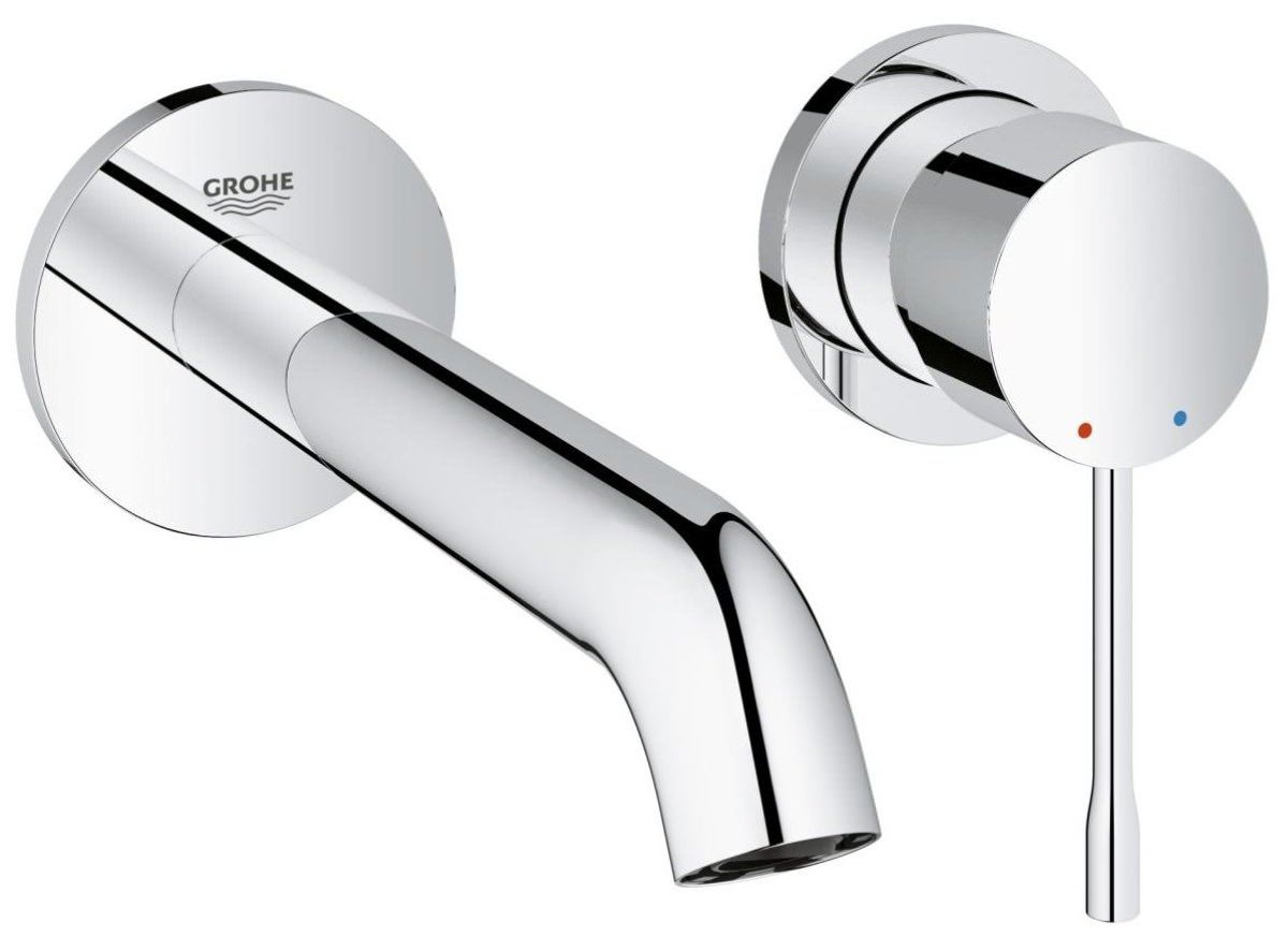 Grohe Essence New 2 Hole M-Size Basin Mixer Tap