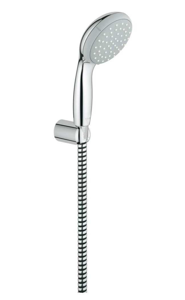 Grohe New Tempesta 100 Hand Shower With Wall Holder Set