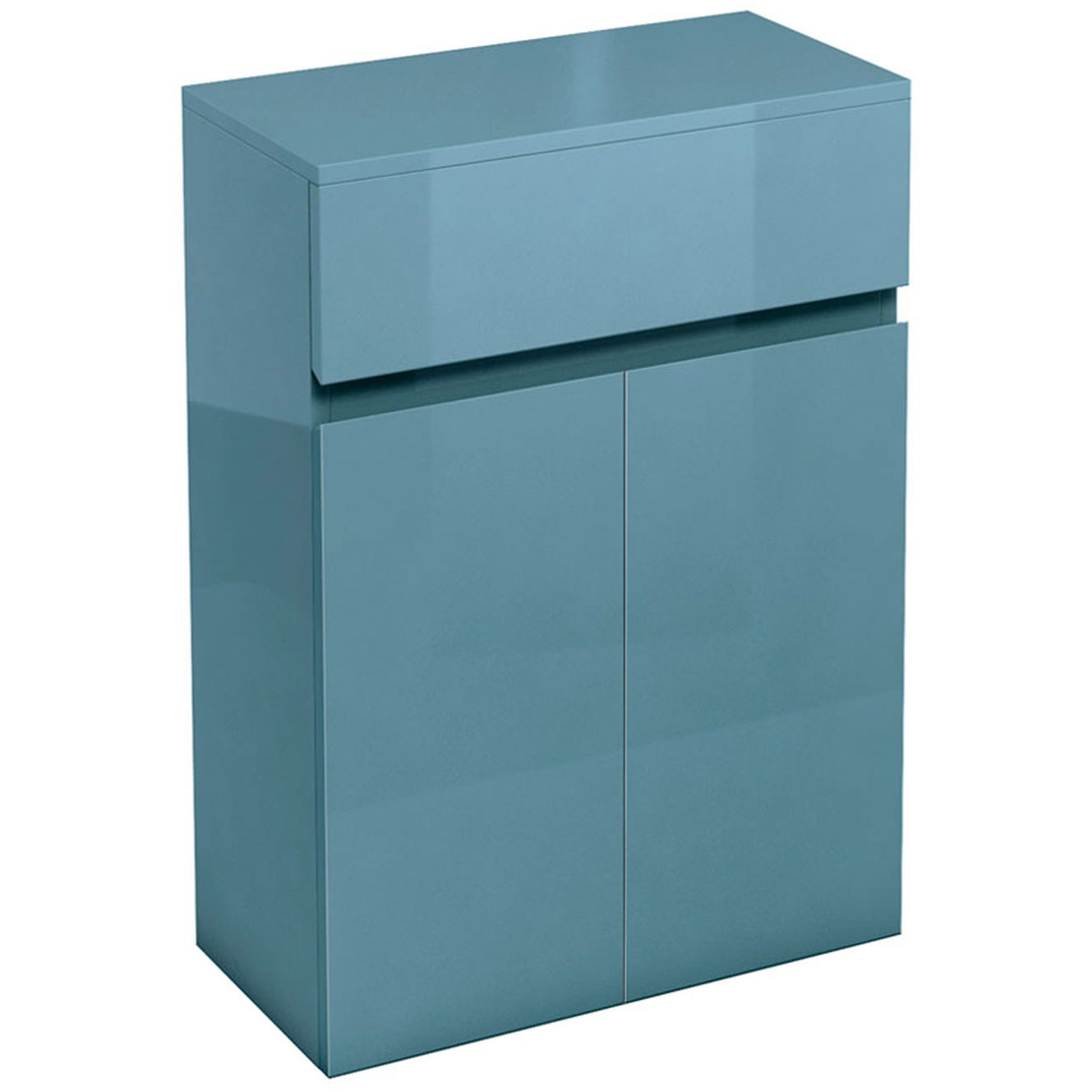 Britton aqua cabinets d30 ocean 600mm drawer and double for Kitchen cabinets 600mm