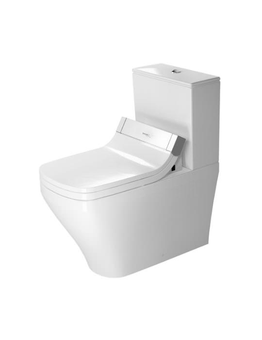 duravit durastyle 720mm close coupled toilet with sensowash. Black Bedroom Furniture Sets. Home Design Ideas