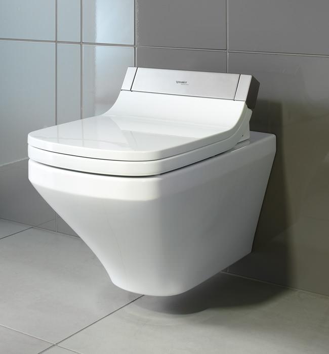 duravit durastyle 620mm wall mounted toilet with sensowash. Black Bedroom Furniture Sets. Home Design Ideas