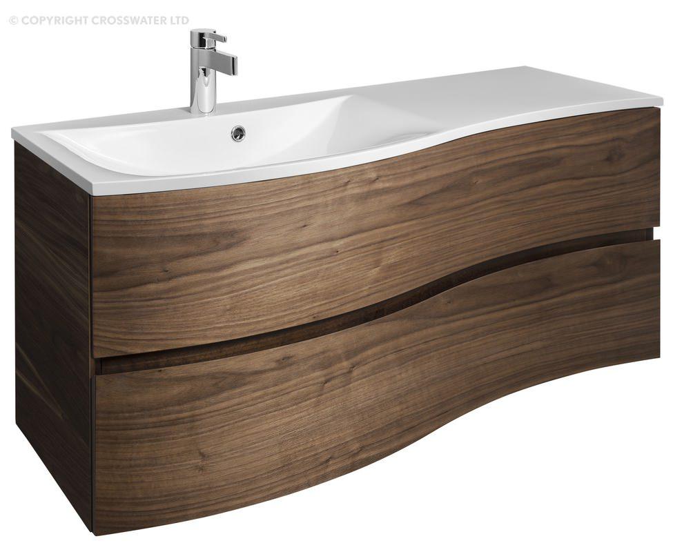 Adp Saber 1200mm Right Bowl Bathroom Vanity Kohler Conical